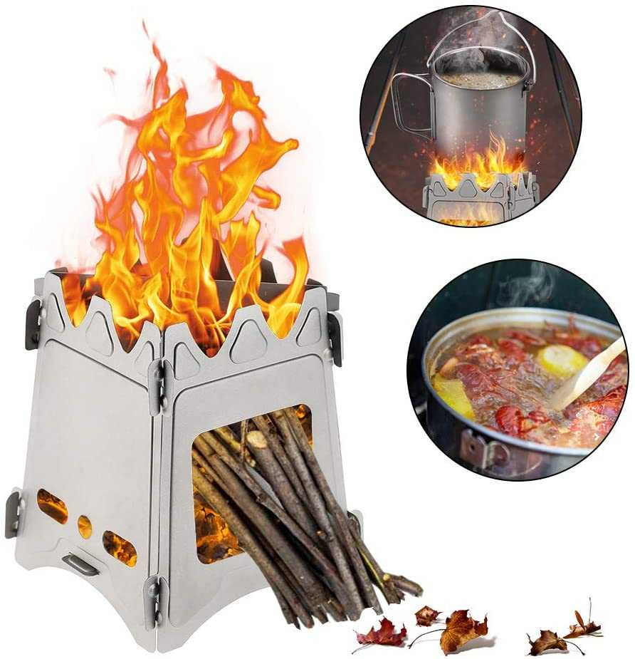 Gulrear Ultralight Camping Stove Folding